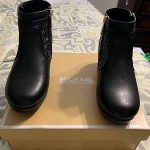 Micheal Kors Little Girl Ankle Boots